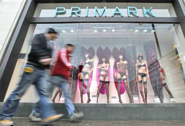 Primark have reported a 24% increase in total sales for the six months to 02 March 2013