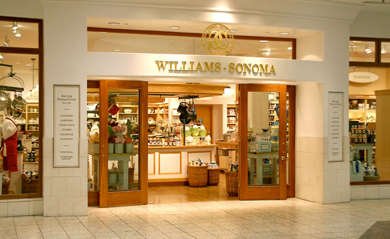 Williams-Sonoma, are to open their first store in the UK on London's Tottenham Court Road
