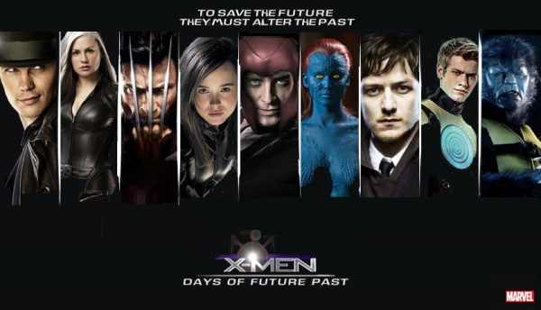 X-MEN- DAYS OF FUTURE PAST young