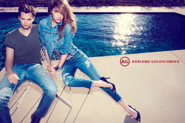 Adriano Goldschmied (AG) is to launch a womenswear capsule collection with British model Alexa Chung