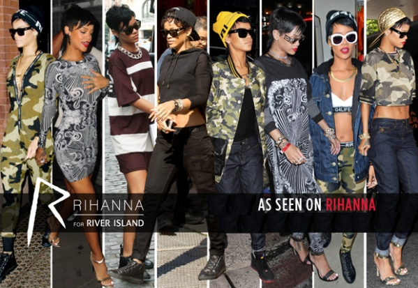 River Island have reported a 4% increase in sales to £839m for the year to 28 December 2013. Pre-tax profit decreased by 10% to £88m for the same period Rihanna
