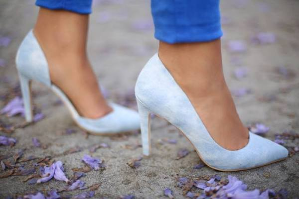 Joe's Jeans Ollie denim heels