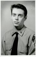 Steve Buscemi during his days as a New York firefighter. [1976]
