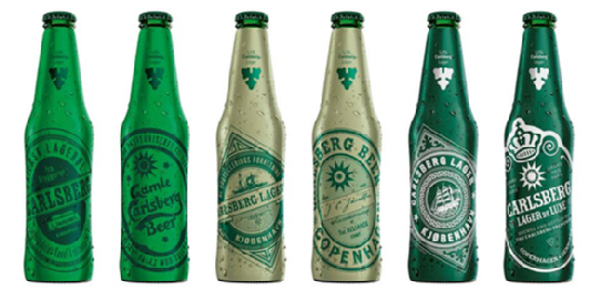 Carlsberg is to relaunch six vintage labels as part of a new campaign highlighting the brewer's 168-year history.