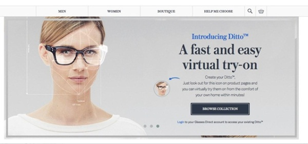 Glasses Direct have introduced a virtual 3D fitting tool that shows shoppers how glasses would look on their face.