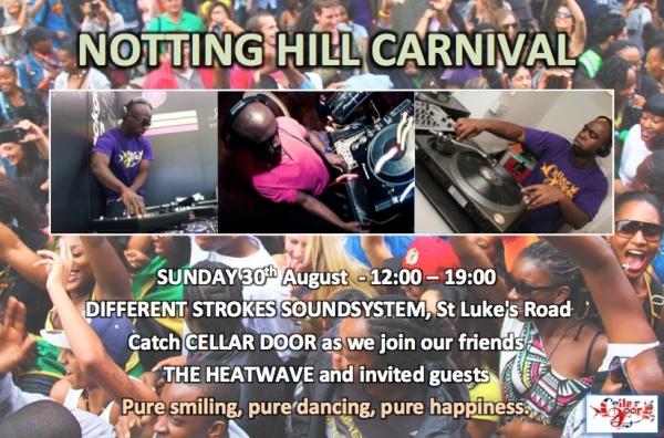 Cellar Door at Notting Hill Carnival 2015