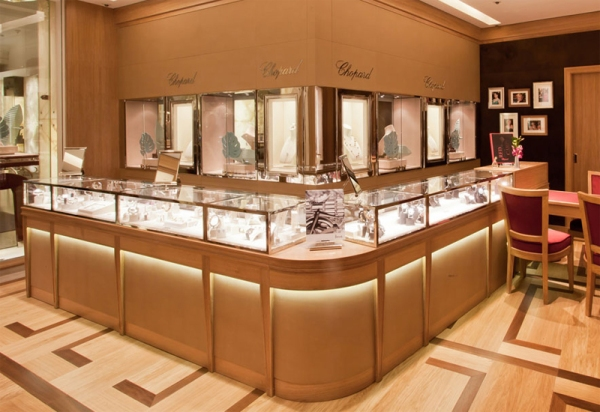 Harrods, the luxury department store, have launched their newly refurbished jewellery room .jpg