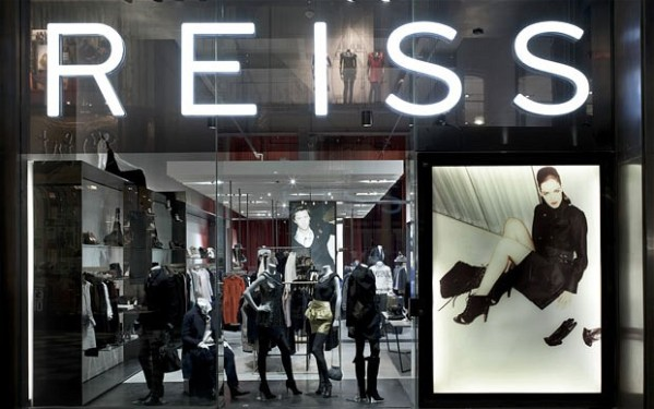 Reiss have reported a 55.9% increase in pre tax profit to £17.8m for the year ending 31 January 2016