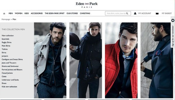 Eden Park, the French luxury fashion brand, have announced plans to open their first store in London .jpg