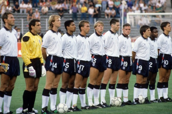 Soccer - World Cup Italia 1990 - Semi Final - West Germany v England - Stadio Delle Alpi