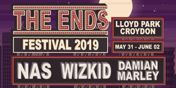 The Ends Festival, Croydon, Music festival, Summer 2019, Live Nation, Metropolis Music, Kiss FM, MAMA Group, Nas, Damien Marley, Wiz Kid, Music, London, Stormzy, Krept and Konan, Nadia Rose.jpg