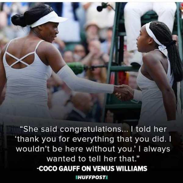 Tennis, Serena Williams, Cori Gauff, sister, Venus Williams, Wimbledon