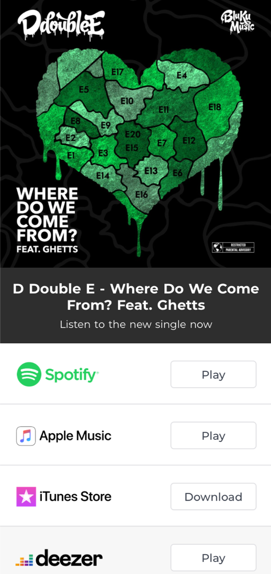 D Double E, Where Do We Come From, IKES Ad, Grime