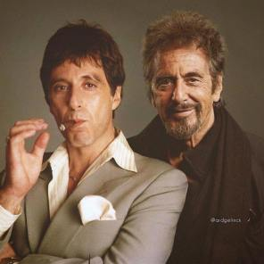 Al Pacino, Hollywood, Before, After, Before and After