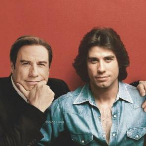 John Travolta, Hollywood, Before, After, Before and After