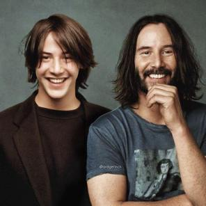 Keanu Reeves, Hollywood, Before, After, Before and After