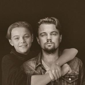 Leonardo DiCaprio, Hollywood, Before, After, Before and After