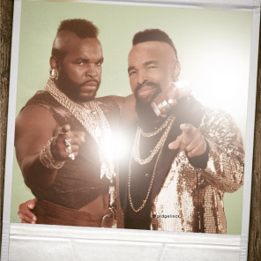 Mr T, Hollywood, Before, After, Before and After