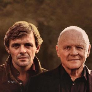 Sir Anthony Hopkins, Hollywood, Before, After, Before and After