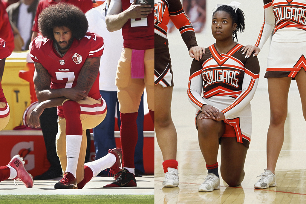 Nike, You Can't Stop Us, You Can't Stop Sport, colin kaepernick, cheerleader, Sport